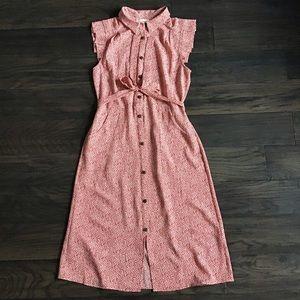 Monteau Retro look button dress